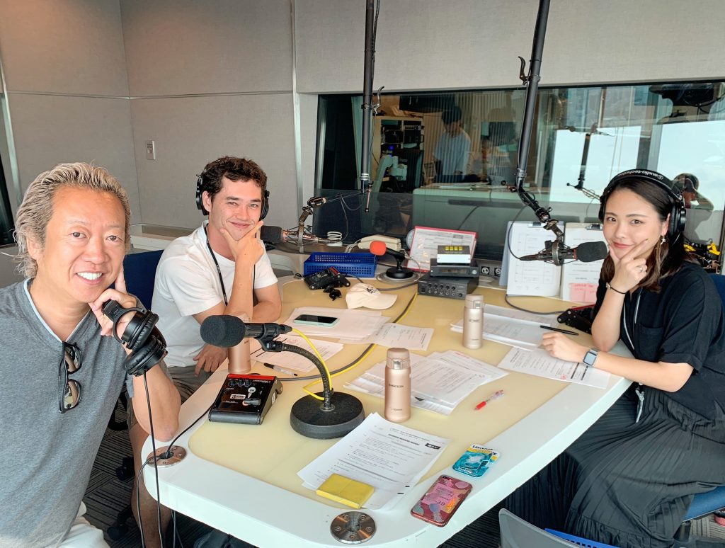 J-Wave Radio Talk Show with Environmentalist, Ian Shimizu.