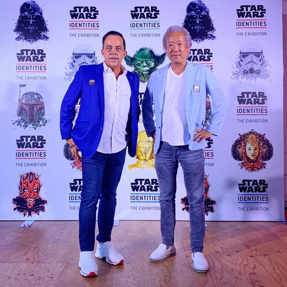 "VIP Preview  ""STAR WARS™ Identities: The Exhibition""."