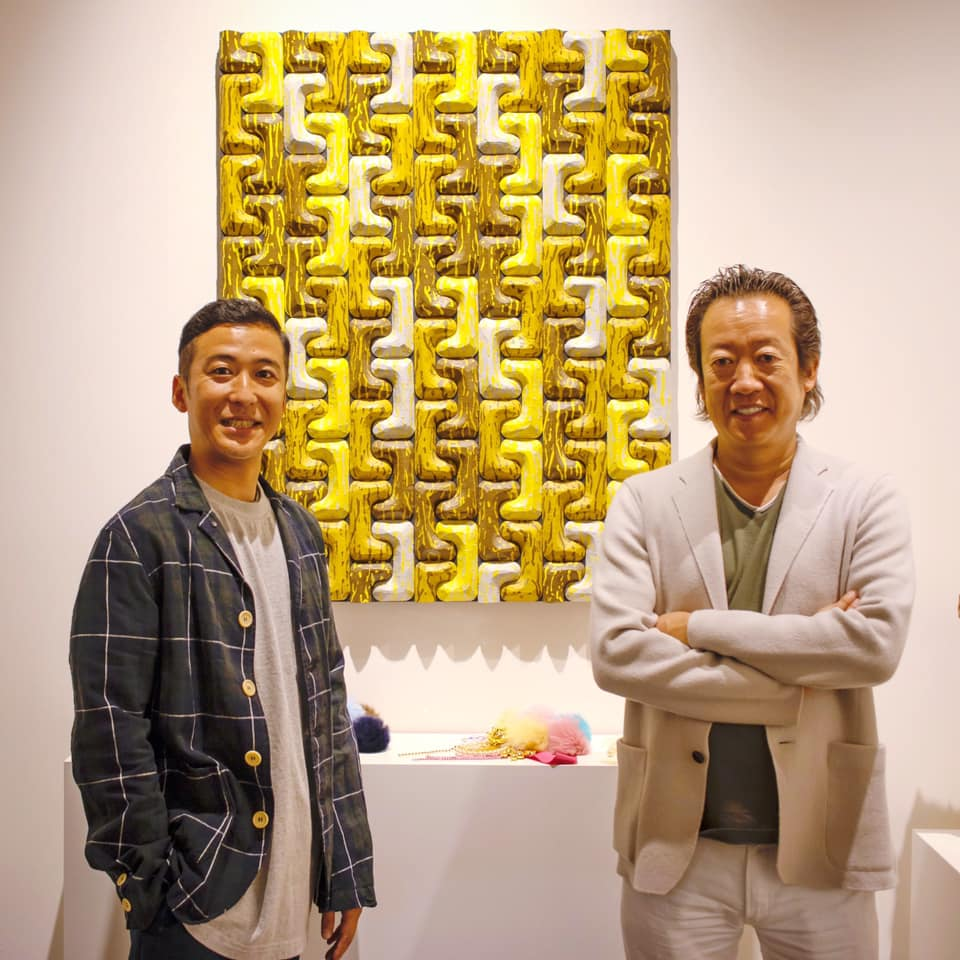 """Tetsuya Tamanoi Exhibition, """"Things From Beyond the Sea"""" Opening Party."""