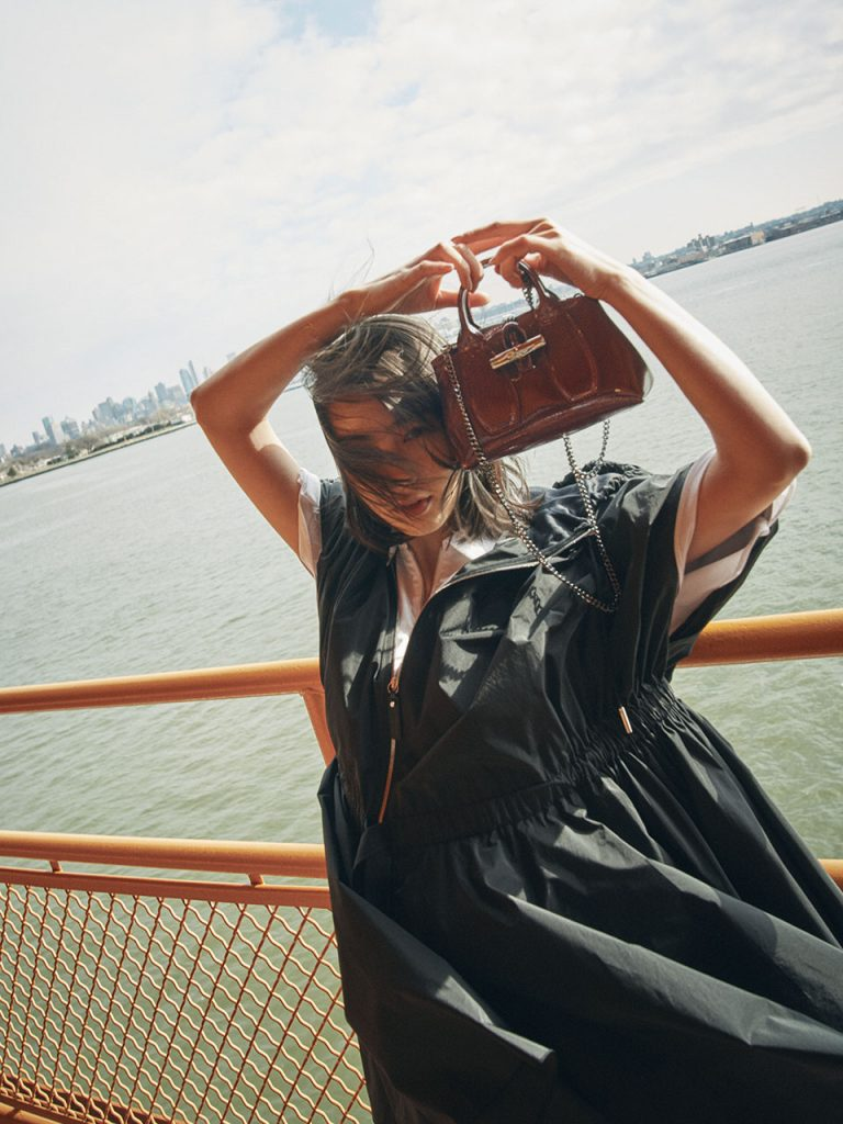 "NON Travels to NY with ""Longchamp""  feat. ELLE ONLINE"