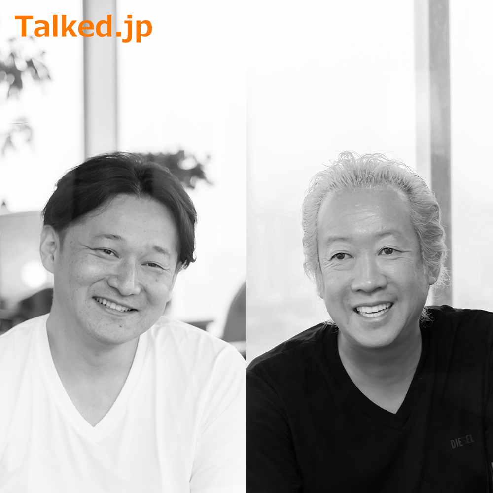 """Conversation""""An official of a giant corporation 10 years after being a temporary staff member. What to decipher from this success story""""  Orient Corporation CEO Hideki Ninomiya x Consultant Atsushi Fukuda"""