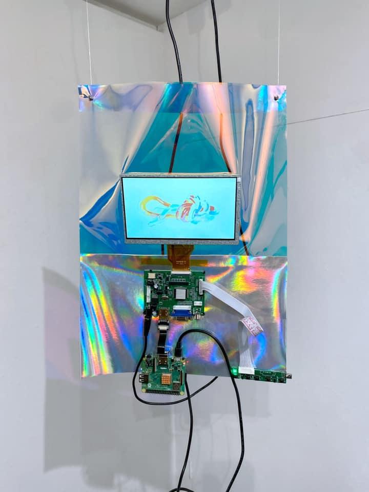 彌永ゆり子 (Yuriko Iyanaga) 個展【ミレニアム世代は、ネットでアートを描く。】 〜世界初のラズパイアートを披露(主催 : Speedy Gallery)